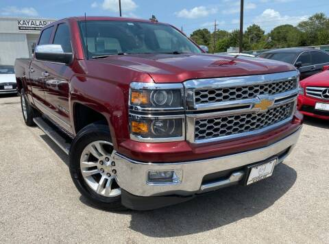 2015 Chevrolet Silverado 1500 for sale at KAYALAR MOTORS in Houston TX