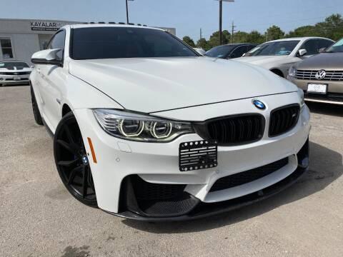 2015 BMW M4 for sale at KAYALAR MOTORS in Houston TX