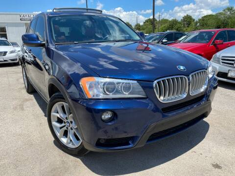 2011 BMW X3 for sale at KAYALAR MOTORS in Houston TX