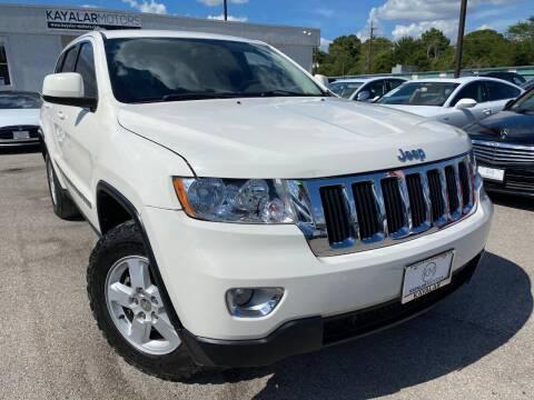 2012 Jeep Grand Cherokee for sale at KAYALAR MOTORS in Houston TX