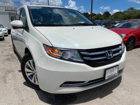 2016 Honda Odyssey for sale at KAYALAR MOTORS in Houston TX