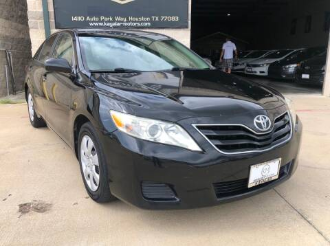 2010 Toyota Camry for sale at KAYALAR MOTORS Garage in Houston TX