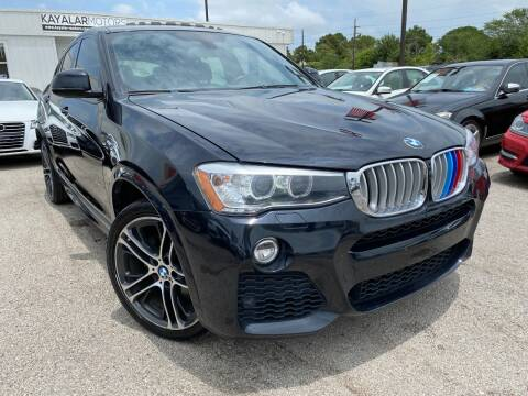 2015 BMW X4 for sale at KAYALAR MOTORS in Houston TX