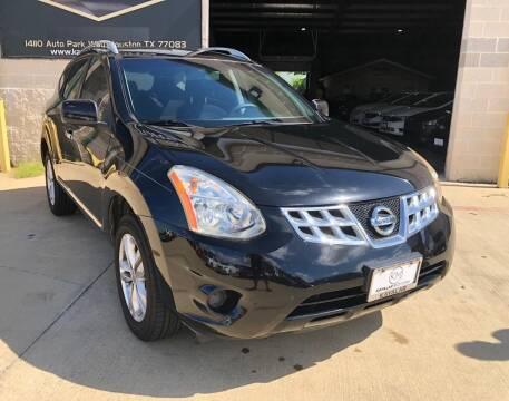 2012 Nissan Rogue for sale at KAYALAR MOTORS Garage in Houston TX