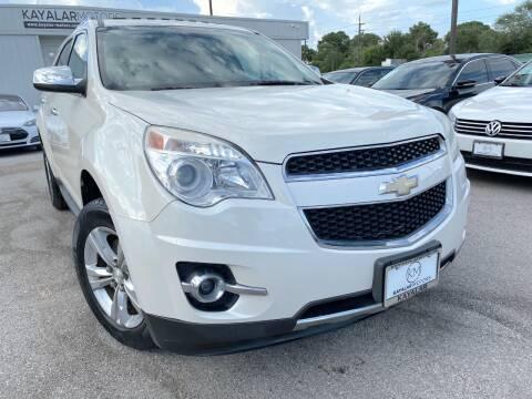 2013 Chevrolet Equinox for sale at KAYALAR MOTORS in Houston TX