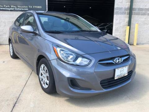 2014 Hyundai Accent for sale at KAYALAR MOTORS Garage in Houston TX