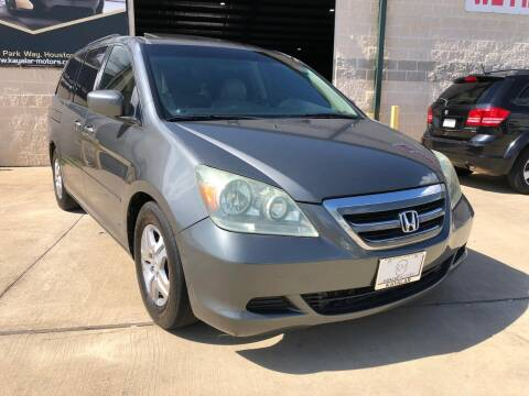 2007 Honda Odyssey for sale at KAYALAR MOTORS Garage in Houston TX