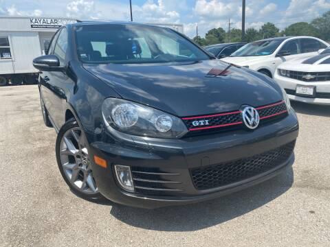 2013 Volkswagen GTI for sale at KAYALAR MOTORS in Houston TX