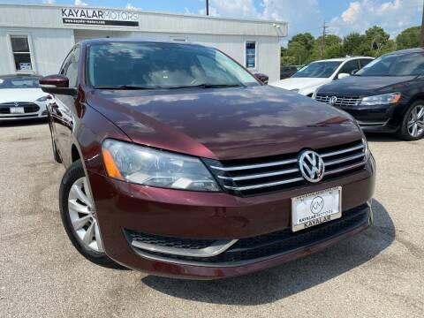 2014 Volkswagen Passat for sale at KAYALAR MOTORS in Houston TX
