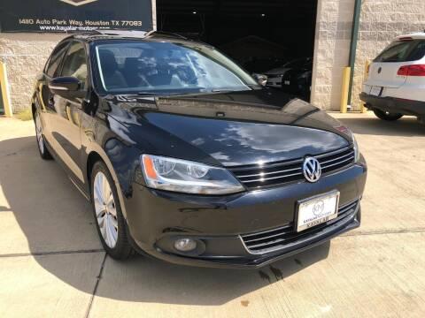 2011 Volkswagen Jetta for sale at KAYALAR MOTORS Garage in Houston TX