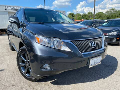 2011 Lexus RX 350 for sale at KAYALAR MOTORS in Houston TX