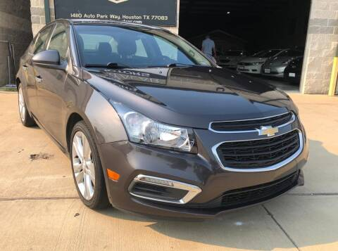 2015 Chevrolet Cruze for sale at KAYALAR MOTORS Garage in Houston TX