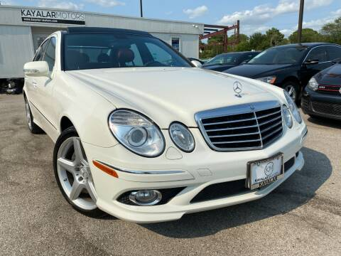 2009 Mercedes-Benz E-Class for sale at KAYALAR MOTORS in Houston TX