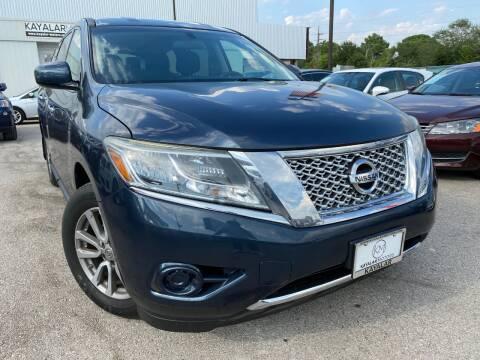 2015 Nissan Pathfinder for sale at KAYALAR MOTORS in Houston TX