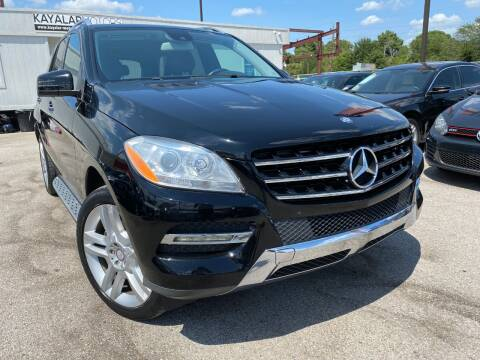 2014 Mercedes-Benz M-Class for sale at KAYALAR MOTORS in Houston TX