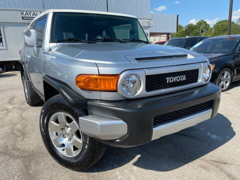 2007 Toyota FJ Cruiser for sale at KAYALAR MOTORS in Houston TX