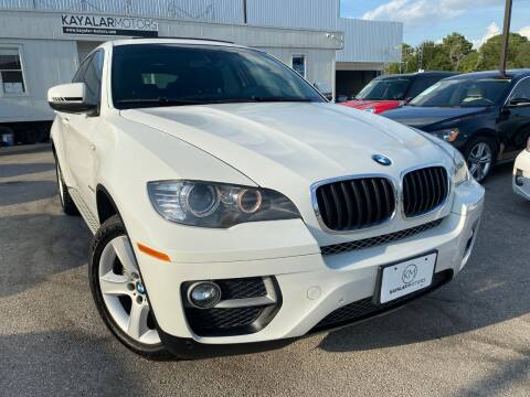 2014 BMW X6 for sale at KAYALAR MOTORS in Houston TX