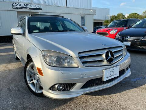 2008 Mercedes-Benz C-Class for sale at KAYALAR MOTORS in Houston TX