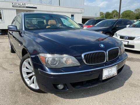 2008 BMW 7 Series for sale at KAYALAR MOTORS in Houston TX