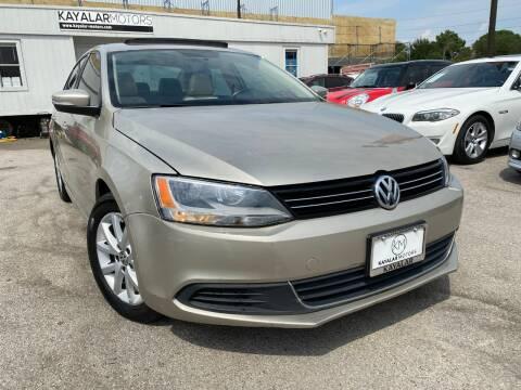 2013 Volkswagen Jetta for sale at KAYALAR MOTORS in Houston TX