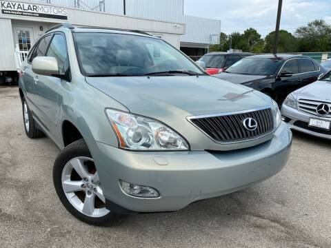 2006 Lexus RX 330 for sale at KAYALAR MOTORS in Houston TX