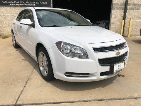 2012 Chevrolet Malibu for sale at KAYALAR MOTORS Garage in Houston TX