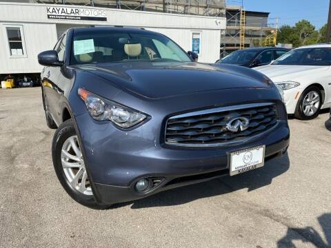 2011 Infiniti FX35 for sale at KAYALAR MOTORS in Houston TX