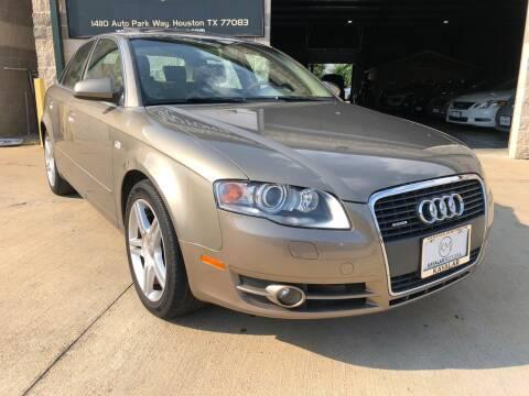 2007 Audi A4 for sale at KAYALAR MOTORS Garage in Houston TX
