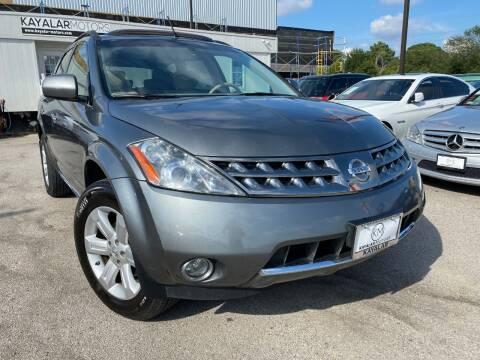 2007 Nissan Murano for sale at KAYALAR MOTORS in Houston TX