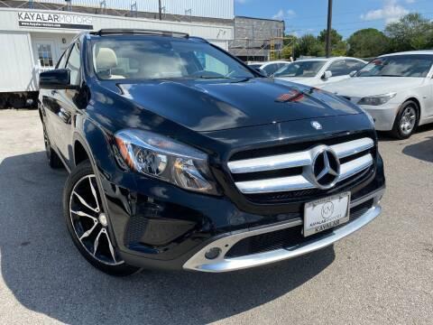 2016 Mercedes-Benz GLA for sale at KAYALAR MOTORS in Houston TX