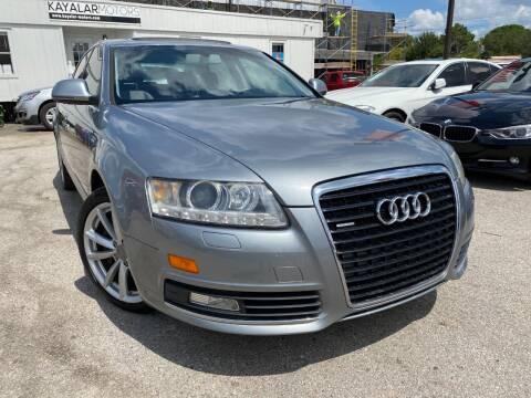 2009 Audi A6 for sale at KAYALAR MOTORS in Houston TX