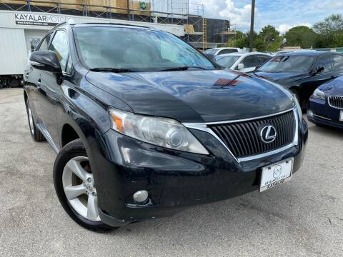 2012 Lexus RX 350 for sale at KAYALAR MOTORS in Houston TX