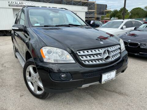 2008 Mercedes-Benz M-Class for sale at KAYALAR MOTORS in Houston TX