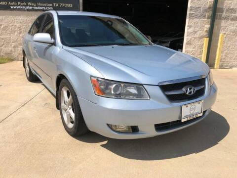 2008 Hyundai Sonata for sale at KAYALAR MOTORS Garage in Houston TX