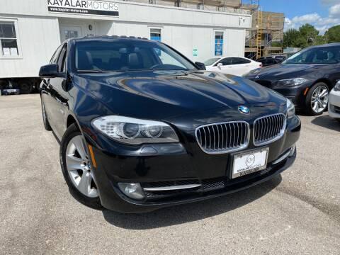 2013 BMW 5 Series for sale at KAYALAR MOTORS in Houston TX