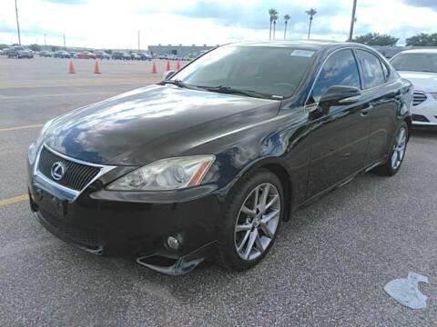 2013 Lexus IS 250 for sale at KAYALAR MOTORS in Houston TX