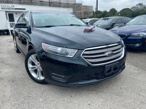 2015 Ford Taurus for sale at KAYALAR MOTORS in Houston TX