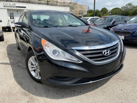 2014 Hyundai Sonata for sale at KAYALAR MOTORS in Houston TX