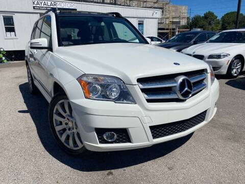 2011 Mercedes-Benz GLK for sale at KAYALAR MOTORS in Houston TX