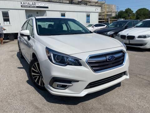 2019 Subaru Legacy for sale at KAYALAR MOTORS in Houston TX