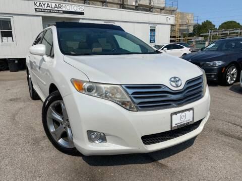 2009 Toyota Venza for sale at KAYALAR MOTORS in Houston TX