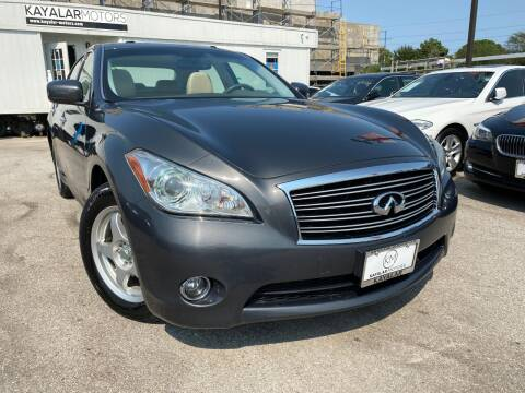 2011 Infiniti M37 for sale at KAYALAR MOTORS in Houston TX