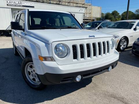 2017 Jeep Patriot for sale at KAYALAR MOTORS in Houston TX