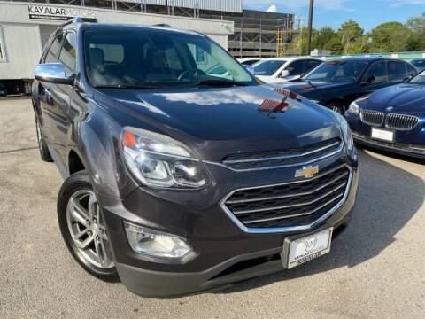 2016 Chevrolet Equinox for sale at KAYALAR MOTORS in Houston TX