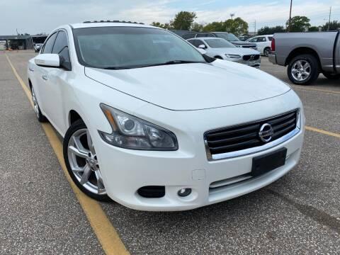 2012 Nissan Maxima for sale at KAYALAR MOTORS in Houston TX