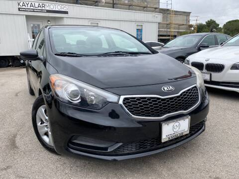 2015 Kia Forte for sale at KAYALAR MOTORS in Houston TX