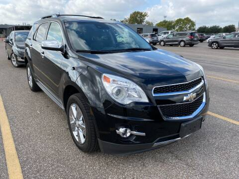 2013 Chevrolet Equinox for sale at KAYALAR MOTORS Garage in Houston TX