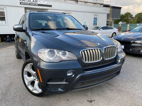 2012 BMW X5 for sale at KAYALAR MOTORS in Houston TX
