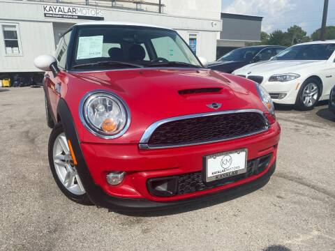 2013 MINI Hardtop for sale at KAYALAR MOTORS in Houston TX