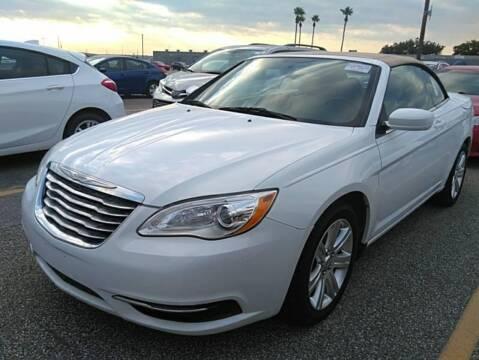 2013 Chrysler 200 Convertible for sale at KAYALAR MOTORS in Houston TX
